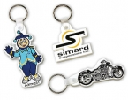 Promotional products: Custom-made flexible key-rings
