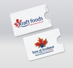 Promotional products: Card holder, 1 tab
