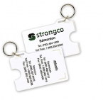 Promotional products: Card Holder With Key-ring
