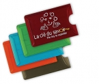 Promotional products: Translucent card holder
