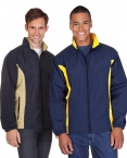 Promotional products: Mens Contrast Nylon Jacket