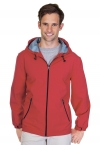 Promotional products: Mens Hooded 3 Layer Bonded Soft Shell Jacket With Lining
