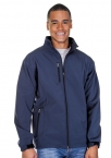 Promotional products: Mens 3 Layer Fleece Bonded Soft Shell Jacket