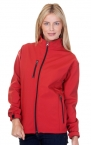 Promotional products: Ladies 3 Layer Fleece Bonded Soft Shell Jacket