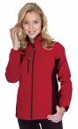 Promotional products: Ladies Contrast 3 Layer Fleece Bonded Soft Shell Jacket