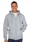 Promotional products: Mens Full Zip Pre Washed Hooded Sweatshirt
