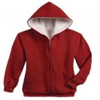 Promotional products: Sherpa Lined Pre Washed Hooded Sweatshirt