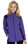 Promotional products: Ladies Microfleece Contrast Jacket