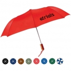Promotional products:  automatic open folding budget umbrella