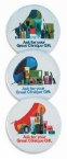 Promotional products: Celluloid buttons