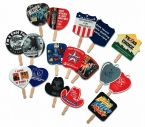 Promotional products: Fans-stock shaped