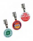 Promotional products: Celluloid button pencil clips