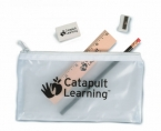 Promotional products: Translucent school pouches