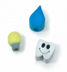 Promotional products: Topper erasers with pencil