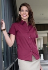 Promotional products: Coal Harbour Ladies Short Sleeve Easy Care Shirt