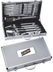 Promotional products: 24 Pc. Deluxe BBQ Set