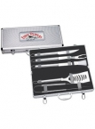 Promotional products: 5 Pc. Deluxe BBQ Set