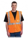 Promotional products: CLASS 2 VEST 4 POCKET