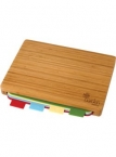 Promotional products: 5 Pc Bamboo Cutting Board Set