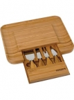 Promotional products: Bamboo Cheese Serving Set