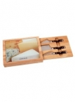 Promotional products: 5 Pc Toma Cheese Set