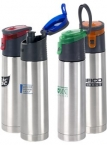 Promotional products: 18 oz Wedge Vacuum Water Bottle