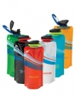 Promotional products: 24 oz Cool Wave Foldable Water Bottle