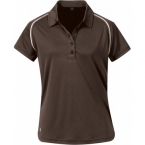 Promotional products: HOTLIST WOMEN'S COOLMAX FRESHFX S/S POLO