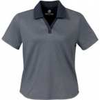 Promotional products: HOTLIST WOMEN'S MICRO-PIMA GOLF SHIRT