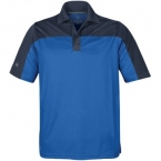 Promotional products: HOTLIST MEN'S LINK TWO-TONE POLO