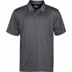 Promotional products: HOTLIST MEN'S OASIS MELANGE STRETCH POLO