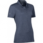 Promotional products: HOTLIST WOMEN'S OASIS MELANGE STRETCH POLO