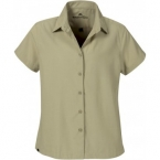 Promotional products: HOTLIST WOMEN'S MICRO DOBBY S/S SHIRT