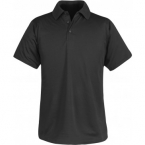 Promotional products: YOUTH S/S RIB KNIT COLLAR POLO