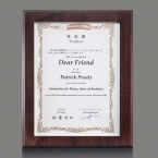 Promotional products: Dovercourt Cert Holder - Cherry 8½