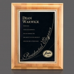 Promotional products: Bamboo/Ashbury Plaque - Bamboo/Black 7