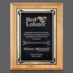 Promotional products: Erindale/Sonata Plaque - Red Alder/Black 7