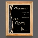 Promotional products: Erindale/Finch Plaque - Red Alder/Black 7