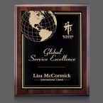 Promotional products: Farnsworth/Marietta Plaque - Cherry/Black 7