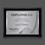 Promotional products: Farnsworth/TexEtch Plaque - Black/Silver 7