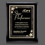 Promotional products: Farnsworth/Starburst Plaque - Black/Black 7
