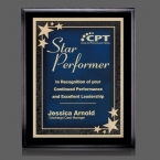 Promotional products: Farnsworth/Starburst Plaque - Black/Blue 8