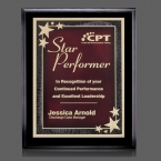 Promotional products: Farnsworth/Starburst Plaque - Black/Red 8