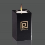 Promotional products: Perth Candleholder - Black 2