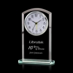 Promotional products: Derby Clock - Jade 5¼