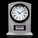 Promotional products: Tuxedo Clock - Silver 7