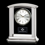 Promotional products: Montague Clock - Silver 7