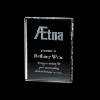 Promotional products: Verona Paperweight - Starfire 3