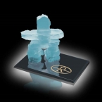 Promotional products: Inukshuk on Ebony - Frosted 2½