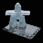 Promotional products: Inukshuk on Jade - Frosted 2½